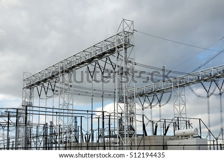 High voltage electric station
