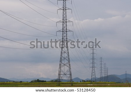 High voltage , electricity