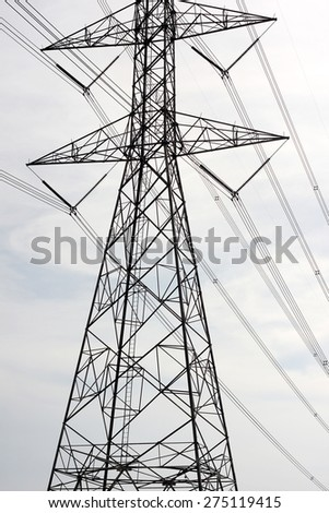 High voltage post 2