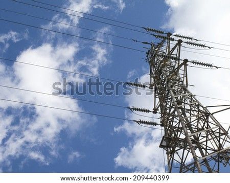 High-voltage Wires and the Tower