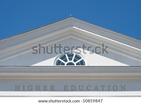 Higher Education as Path for a Successful Life - stock photo