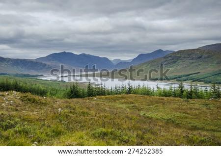Highlands,Scotland - stock photo