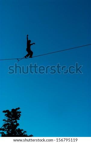 Highliner - stock photo