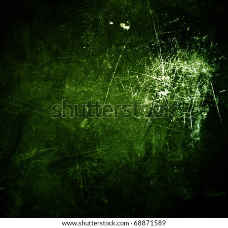 highly cracked textured grunge background frame - stock photo