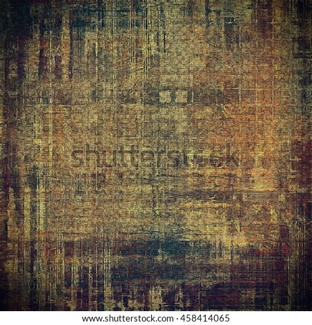 Highly detailed grunge background or scratched vintage texture. With different color patterns: yellow (beige); brown; gray; black; purple (violet); cyan