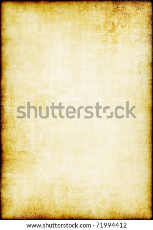 Highly detailed grunge paper texture with copy space for images or text - stock photo