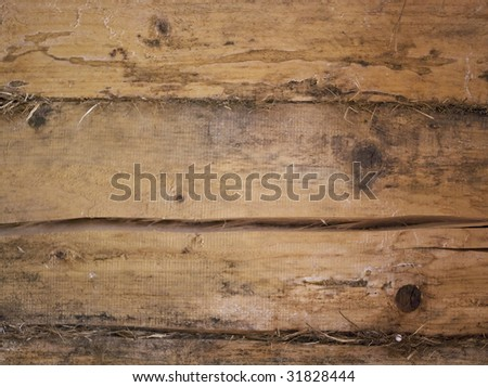 Highly detailed texture of a old wooden surface