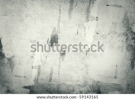 Highly detailed textured grunge paper. Great grunge background for your projects. - stock photo