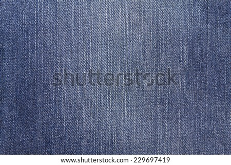 Highly resolution detailed texture of abstract soft color blue denim jeans background  - stock photo
