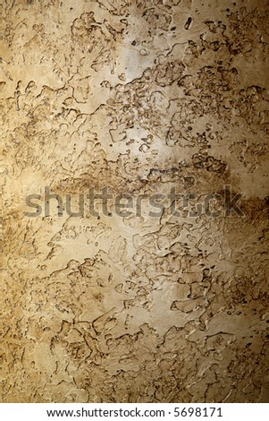 highly textured interior wall - stock photo