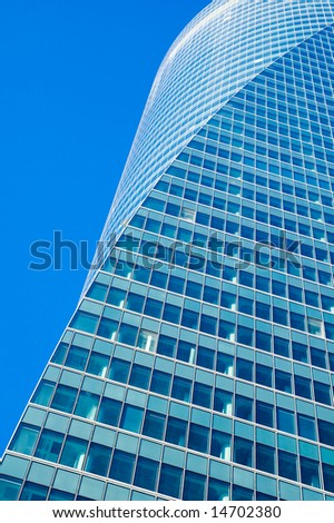 highrise office skyscraper building - stock photo