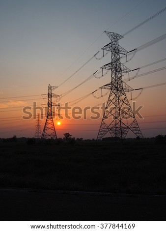 hight voltage pole