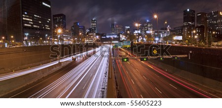 Highway - stock photo