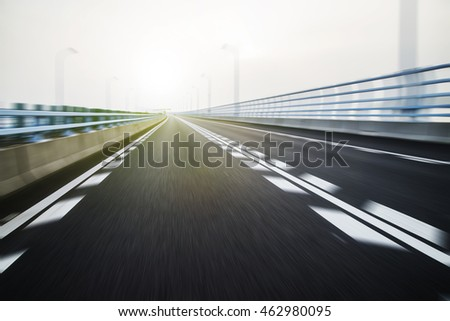 Highway background road