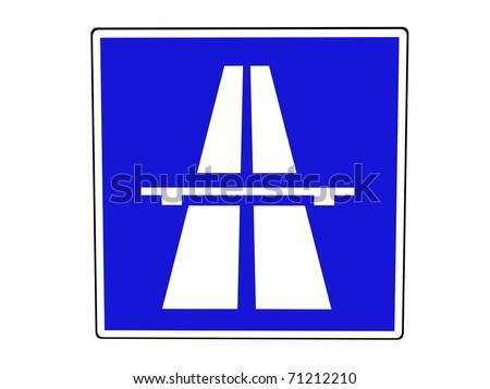 german swiss austrian autobahn french autoroute stock vector 3066180 shutterstock. Black Bedroom Furniture Sets. Home Design Ideas