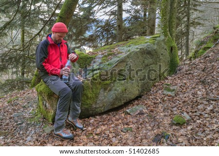hiker, Black Forest, Germany