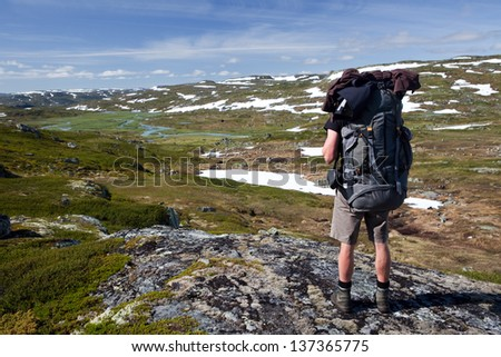 Hiking in Norway - Hardangervidda national park