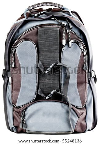 Hiking Photography Storage Backpack Compartment Zipper Bag