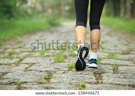 jeukende benen na wandelen