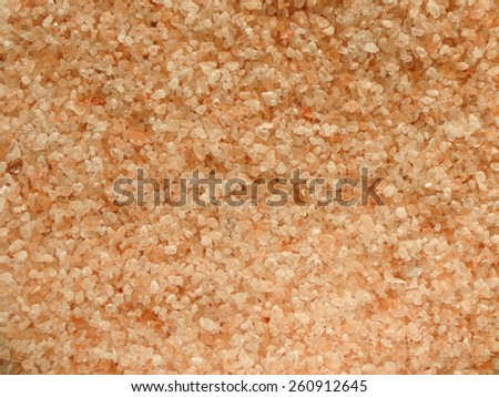 Himalaya Pink Salt - crystal pink prisms useful as a background - stock photo