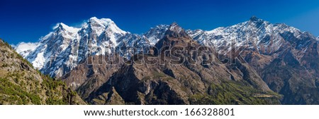Himalayan Range - stock photo
