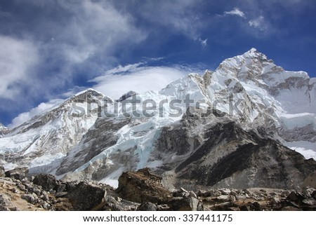 Himalayan Range - stock photo