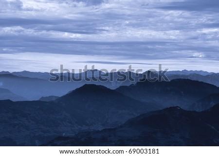Himalayas - stock photo