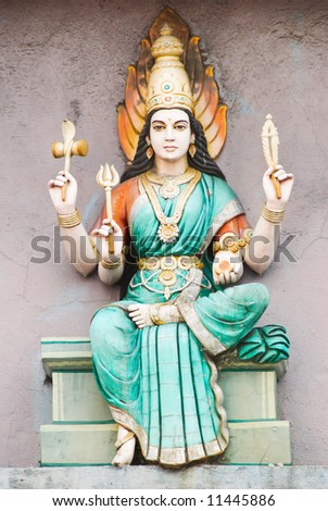 hindu deity - stock photo