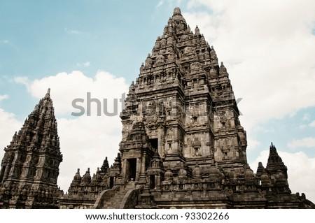 Hinduism Prambanan Temple - stock photo