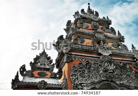 Hinduism Temple's Gate