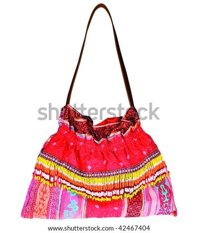 Hippie Bag - stock photo