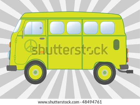 Hippie the bus