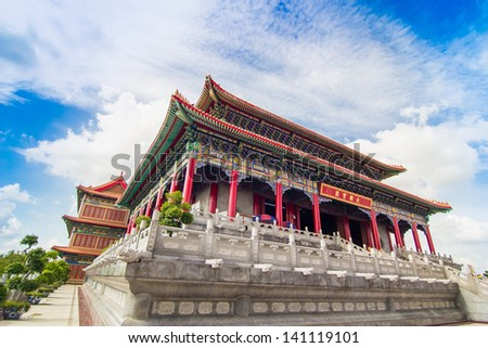 Historic Architecture of China - stock photo