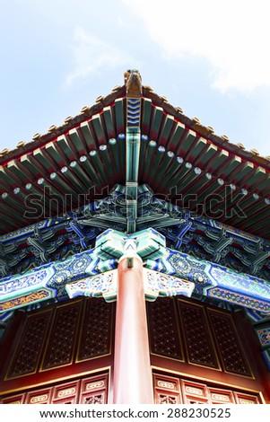 Historic Architecture of China. - stock photo