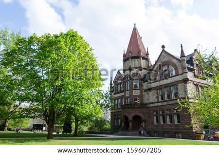 Historic building - stock photo