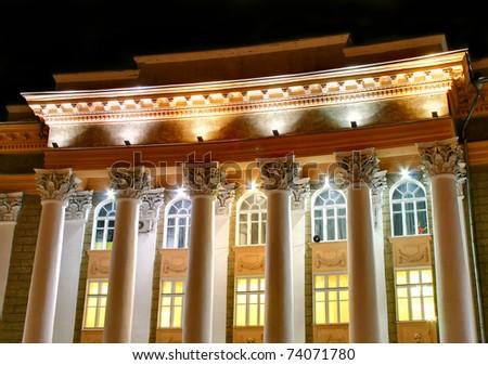 Historic building - stock photo