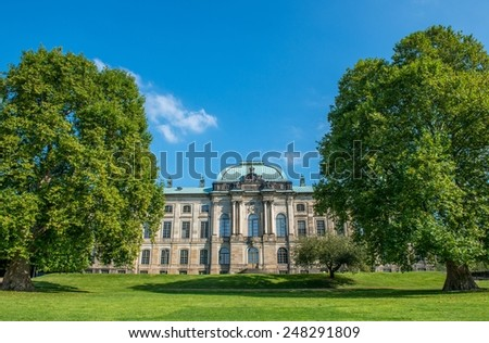 historic building in Germany - stock photo