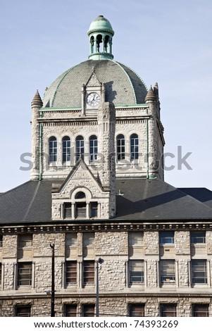 Historic building in Lexington, Kentucky. - stock photo