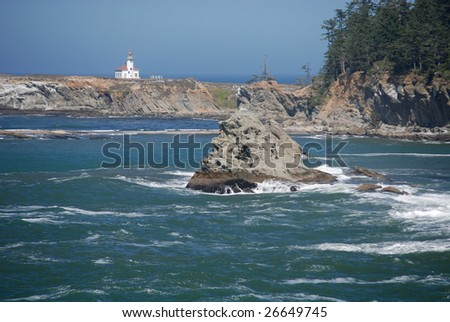 Historic Cape Arago Lighthouse Oregon