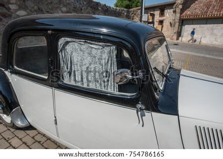 Historic Car Heath Protection Stock Photo 754786165 Shutterstock
