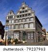 Historic chamber of commerce building, Lueneburg, near Hamburg, Germany - stock photo