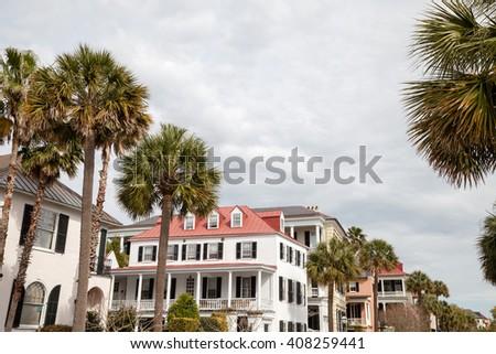 Historic Charleston, South Carolina - stock photo
