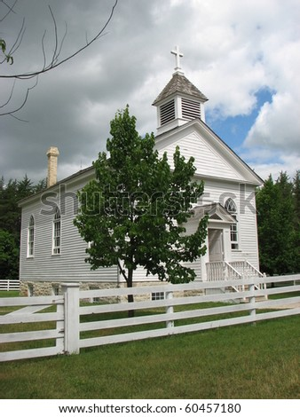 Historic Church - stock photo