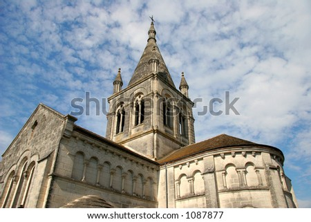 Historic church in France