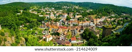 historic city wiev  - stock photo