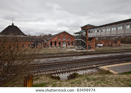 burned down train station roundhouse martinsburg stock photos images pictures shutterstock. Black Bedroom Furniture Sets. Home Design Ideas