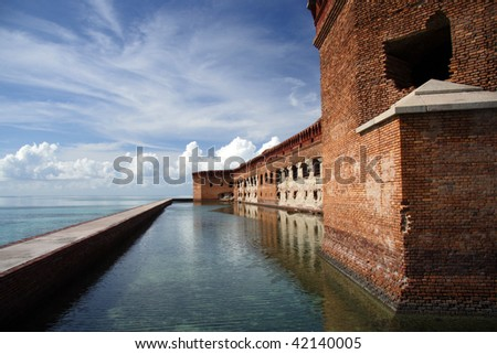 Historic Fort Jefferson, Florida Keys