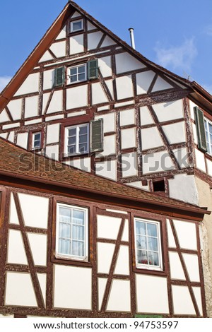 Historic half-timbered house, Germany