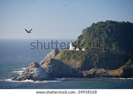 Historic Heceta Head Lighthouse Oregon