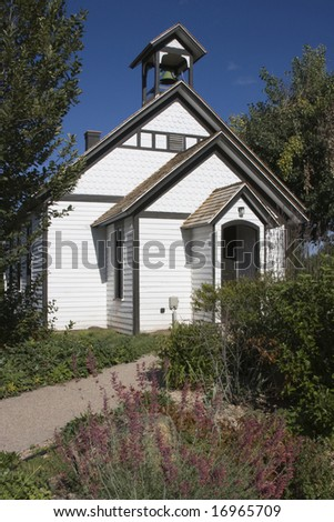 Historic One-Room School House - stock photo